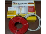Тонкий теплый пол двухжильный нагревательный мат WARMSTAD WSM-220 Вт площадь обогрева 1,5 м2 комплект