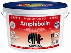 Тонкослойная краска экстра-класса Amphibolin Caparol. Шелковисто-матовая