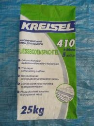 Тонкослойный самовыравнивающийся наливной пол 5 ч KREISEL FLIESS-BODENSPACHTEL 410