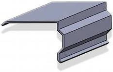 Торцевая планка (ветровая); длина 2м
