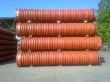 Труба гофрированная 400х6000мм для наружной канализации