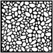 ТР. ПЛ. «Галька » 400 х 400 х 35 = 0,16 м в 1м- 6,25 шт. =78 кг/м