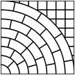 ТР. ПЛ. «Львовский тротуар» 400 х 400 х 35 = 0,16 м в 1м- 6,25 шт. =78 кг/м