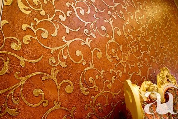 Трафаретний розпис стін