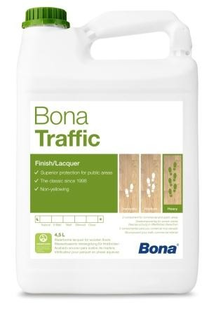 Bona Traffic Бона Треффик лак для паркета на водной основе двухкомпонентный
