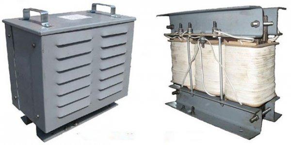 Фото 3 Трансформатор понижуючий трифазний ТСЗІ- 5 кВА, (380 36 В) 330365
