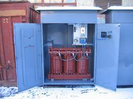 Трансформатор прогрева бетона КТП 160