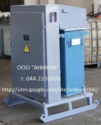 Трансформаторы для прогрева бетона КТП ТО 80(ТМОБ-80 КВА)