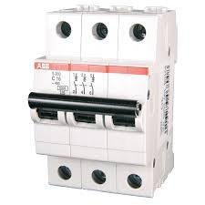 Фото  1 Автоматический выключатель ABB 3p, 16A, B, SH203-B16 2079303