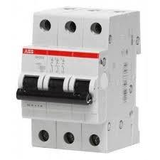 Фото  1 Автоматический выключатель ABB 3p, 20A, C, SH203-C20 2079315