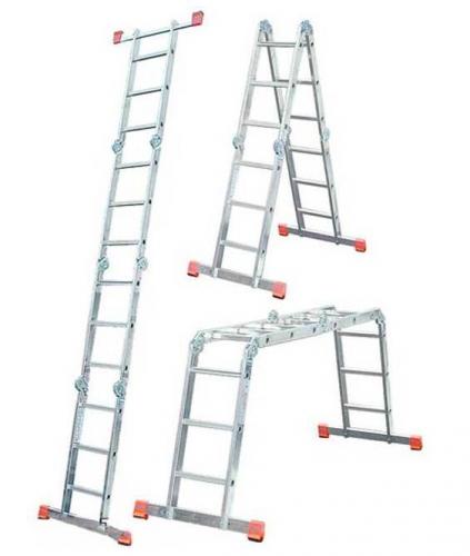 Трехсекционные лестницы алюминиевые купить можно в Киеве, Симферополе, Харькове, Донецке, Черкесах, Запорожье
