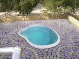 Бассейн стекловолоконный Тройка 3,4 х 2,5х1,55 - строительство бассейнов
