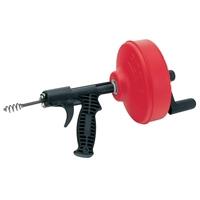 Тросс для прочистки канализационных труб. Прочистная вертушка для прочистки канализации