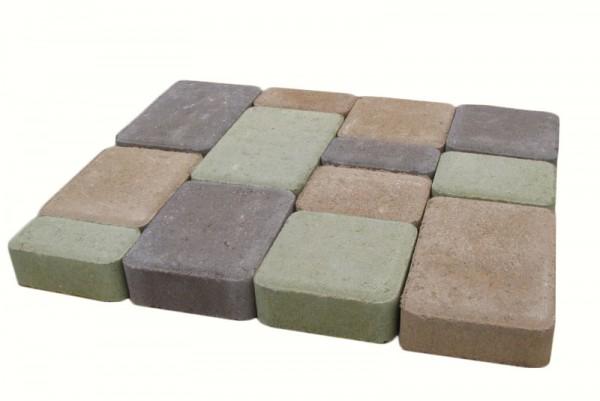 """Тротуарна плитка """"Старе місто"""" h45 (сіра) Вібропресована продукція від виробника. Найнижча ціна в регіоні."""