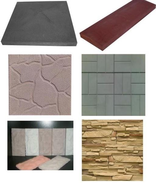 Тротуарная, фасадная плитка, облицовочный кирпич и элементы забора. Распродажа!