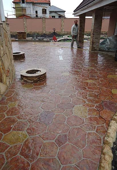 Тротуарная плитка Гранилит 3