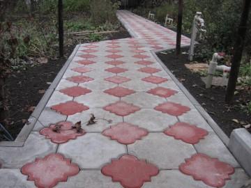 Тротуарная плитка Мариуполь, литая и прессованная продукция