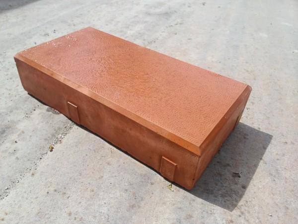 """Тротуарная плитка """"Кирпич шагрень"""". Размеры 20х10х4,5см. Долговечность. Качество. Гарантия. Отсутствие боя."""