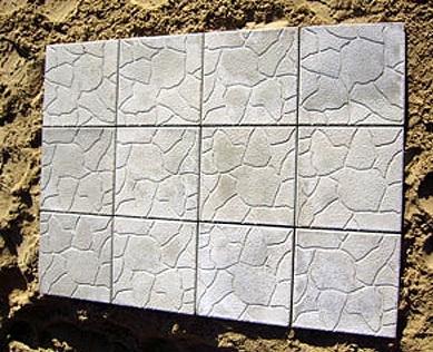 Тротуарная плитка Тучка 30х30см, толщ. 30 мм Серый (м. кв. )