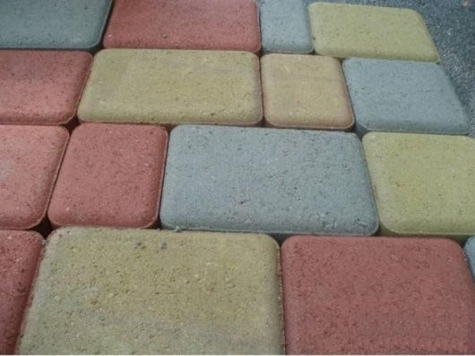 Тротуарная плитка вибропрессованная(Ст арый город) Размер (мм):180х120х60 ; 120х120х60 ; 120х90х60
