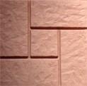 "тротуарная плитка""КАЛИФОРН ИЯ"" Р-Р:295 х 295 х 35 = 0,088 м в 1м- 11,5 шт. = 78 кг/м"