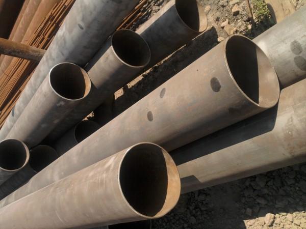 Труба 219х7 демонтаж, длина 11,7 м подготовлена для повторного использования. Г10705