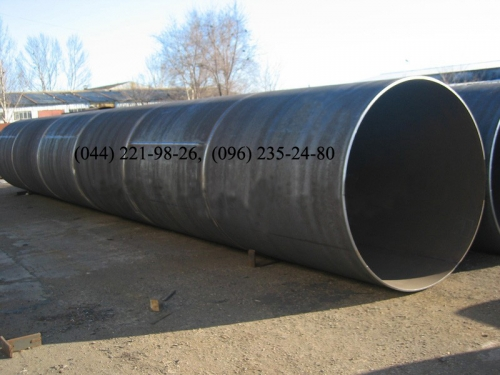 Труба 630 мм стальная новая