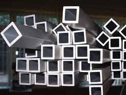 Труба алюмінієва квадратна 16,8х16,8х2,0мм, АД31Т1, Т5, порізка, доставка