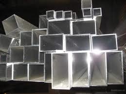 Труба алюмінієва прямокутна 100х20х2 , 0 мм АД31 Т5 , доставка по Україні , порізка , гнучка.