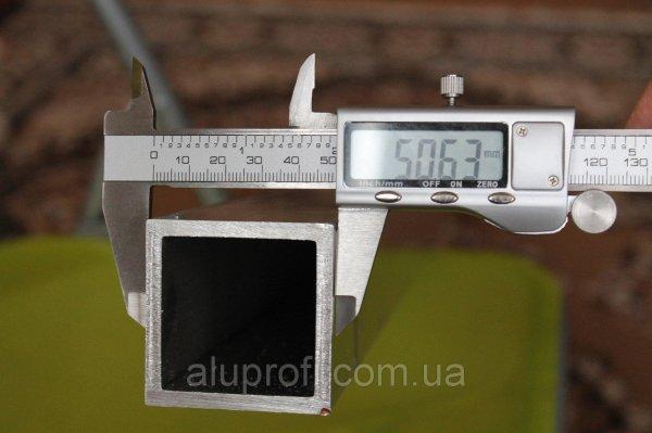 Фото  1 Труба алюминиевая 50х50х2,5мм АД31Т (6060) 1866371