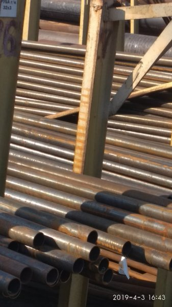 Фото  1 Труба бесшовная горячекатаная 406х40 ст 20 ГОСТ 8732-78. Со склада. 2068811