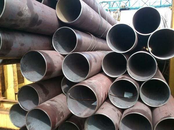 Труба бесшовная, горячекатаная Ф 168х8мм. , для котелен и трубопроводов работающих под давлением. ГОСТ 8732