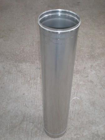 Труба дымохода, нержавеющая сталь, диаметр 100мм