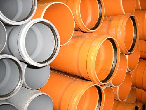 Труба для наружной канализаци К2-Кан. Предназначены для строительства канализации санитарной и ливневой