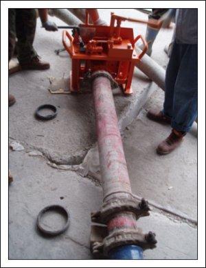Труба для подачи бетона Ю. Корея, длина 3 м. внутр. диаметр 125 мм