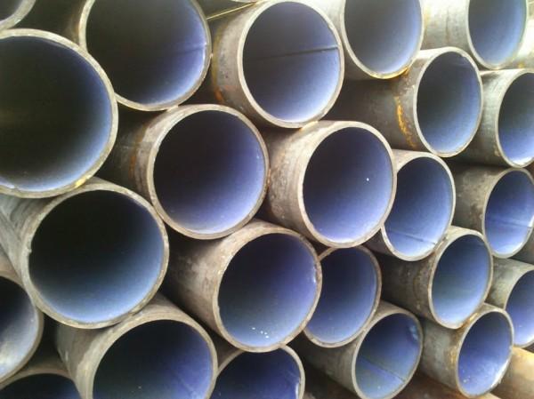 Труба эмалированная, стальная, Ду40мм. Для трубопроводов и скважин. Толщина покрытия пищевой эмали от 0,3-1мм.