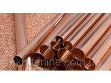 Фото  1 Труба медная 42х2,0мм твёрдая (мягкая) в прямая и бухтах М1 М2 2189521