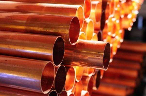Труба медная диаметр 14х1,5 мм сталь М1