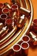Труба медная КМЕ Sanco Германия для монтажа систем отопления и водоснабжения.