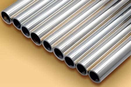 Труба медно-никилиевая размер 18х2 мм длина 2-8 м МНЖ5-1