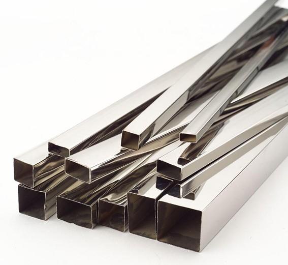 Труба н/ж 20х20х1,0 мм длина 6,01м сталь 04X18H10
