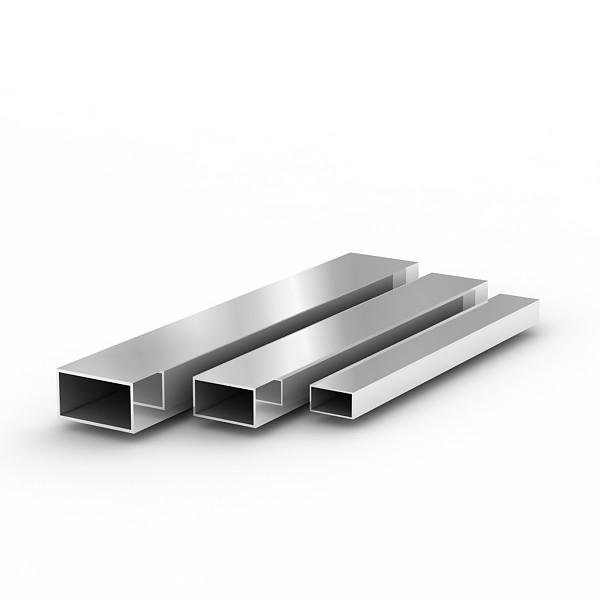 Труба н/ж 25х25х1,0 мм длина 6,01м сталь 04Х18Н10