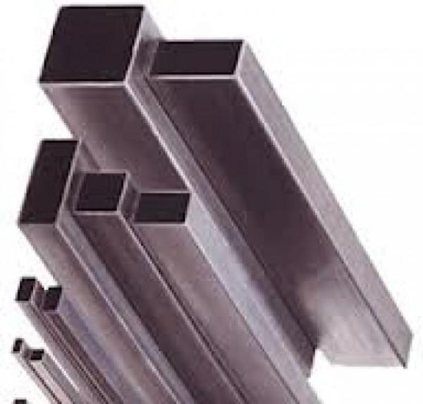 Труба н/ж 40х40х1,5 мм длина 6,01м сталь AISI 430