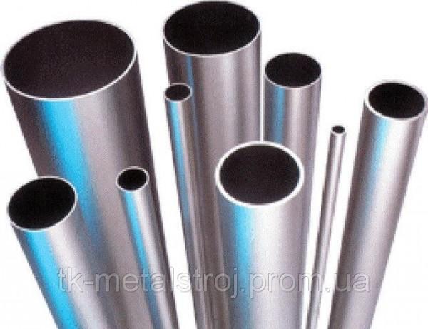 Труба нержавеющая круглая полированная 42,4х1,5 AISI 201 (12Х15Г9НД)