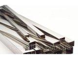 Фото  1 Труба нержавеющая профильная прямоугольная 20х10х1 мм полированная, шлифованная, матовая 2189951