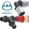 Труба PE-Xc ( VPE-c) KAN -therm с антидиф-фузионной защитой, 18 мм. /2,5 мм. Монтаж, отопление, водоснабжение: ГВС, ХВС.