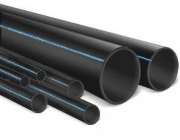 Труба полиэтиленовая ПЭ ( полимерная ) из ПНД , труба напорная ПЭ - 80 и ПЭ -100 от производителя .
