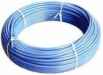 Труба полиэтиленовая водопроводная синяя, диаметр 32мм. В наличии также труба диаметром 20мм, 25мм, 40мм, 50мм, 63мм.