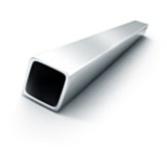 Труба профильная 40х20х2 АДО (1011) алюминий технический