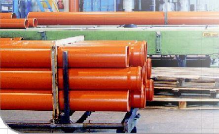 Труба ПВХ канализационная (Тяжелый тип) SN8 SDR34 - 110 х 3,4 мм - 0,5 м